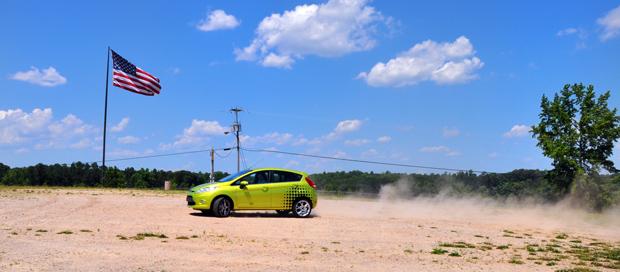 Ford Fiesta at Road Atlanta