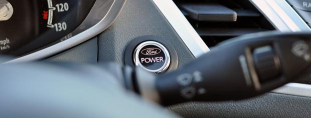 The Fiesta Power button