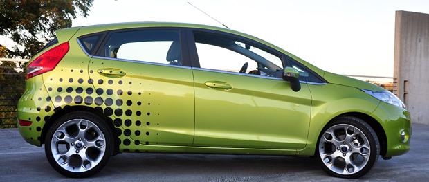 Fiesta Profile shot