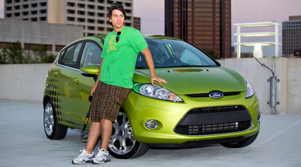 Paul Stamatiou and the 2011 Ford Fiesta