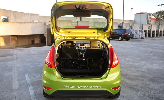 Fiesta Trunk Open
