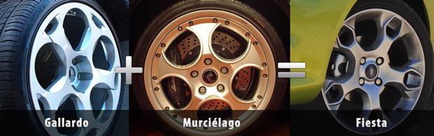 Ford Fiesta - Lamborghini Inspired Wheels?
