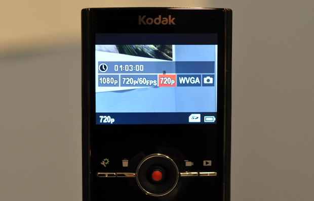 Video Recording Sizes on the Kodak Zi8