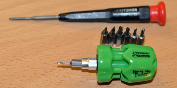 Tools - Philips and Torx