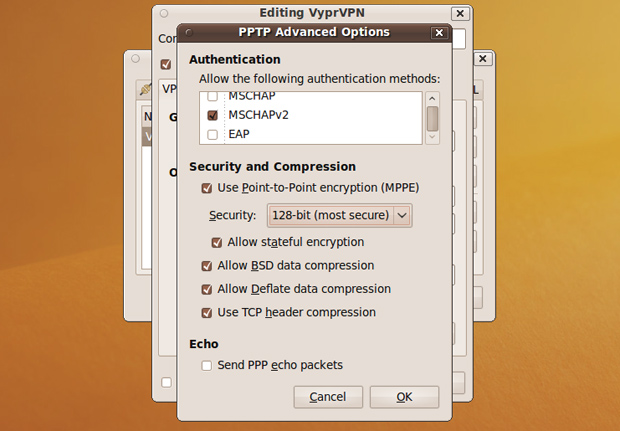 Advanced VPN Options for Ubuntu
