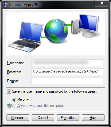 Connect to VPN - Windows 7
