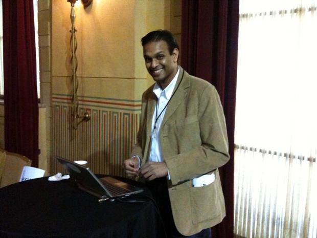 Sanjay - Startup Riot Live blog