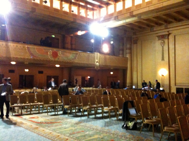 The Egyptian Ballroom of the Fox Theater in  Atlanta- Startup Riot Live blog