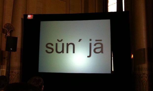 Sanjay pronunciation- Startup Riot Live blog