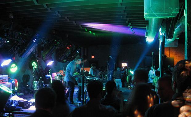 Band playing at Geobash/Purevolume