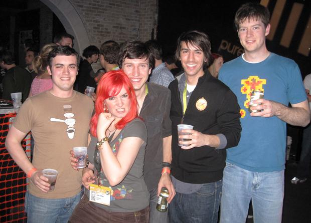 Kyle Neath (github), Jolie O'Dell, Eston Bond (iSocket), Paul Stamatiou, Richard Crowley (stealth startup)