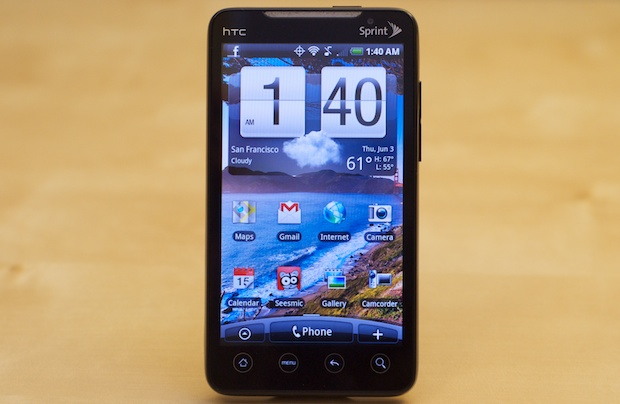 Sprint HTC EVO 4G phone on