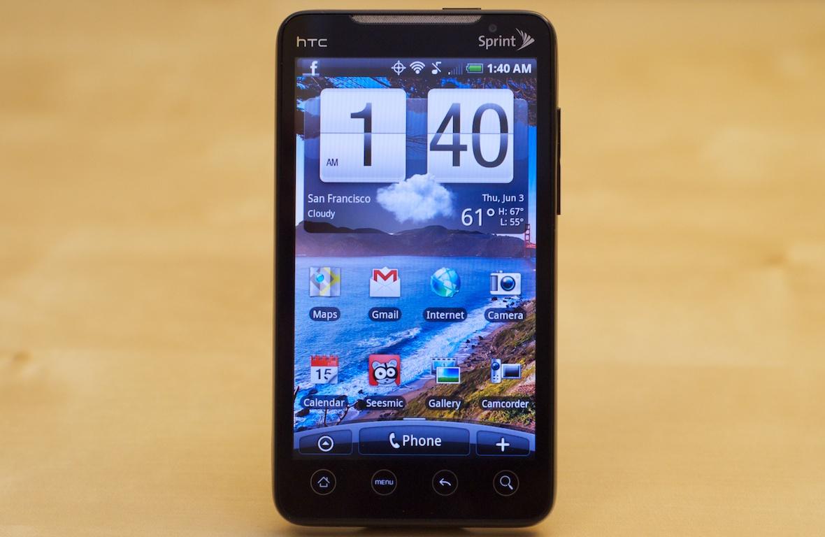 Review: Sprint HTC EVO 4G Android Phone — PaulStamatiou com