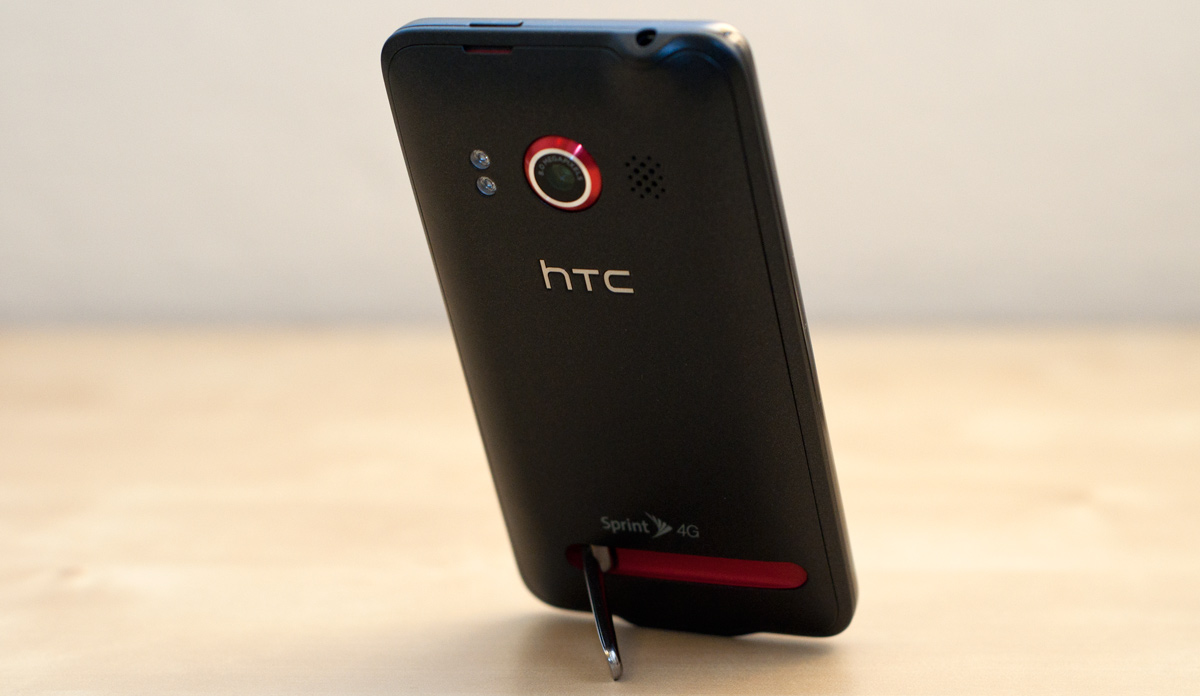 htc with kickstand. sprint htc evo 4g android phone with kickstand htc