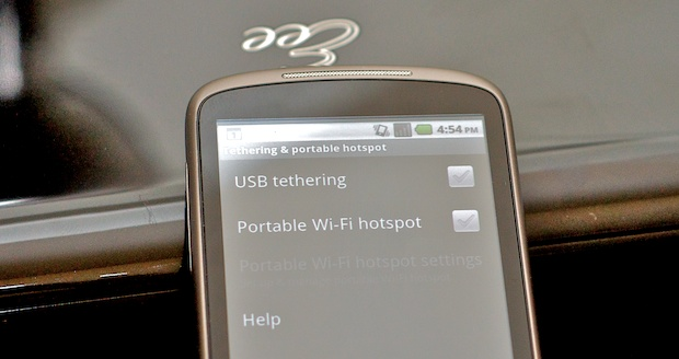 3G Tethering with Google Nexus One phone and Android 2.2 Froyo OS