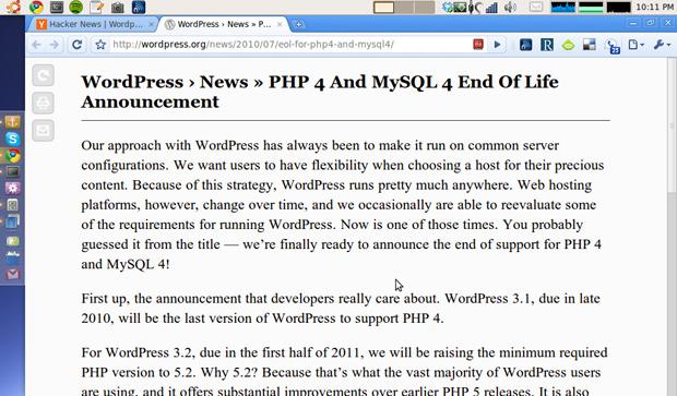 Chrome with Readability