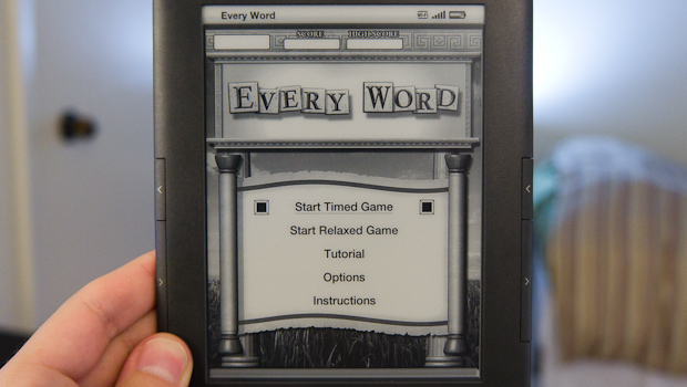 Every Word Game - Kindle Active Content