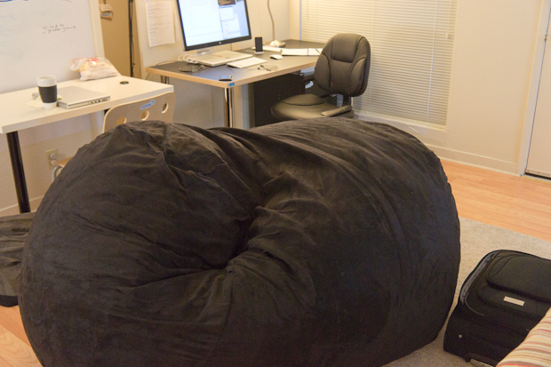 Comfy Sack at Notifo HQ