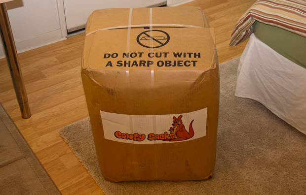 Comfy Sack Lounger Box