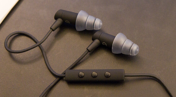 etymotic hf3 earphone closeup