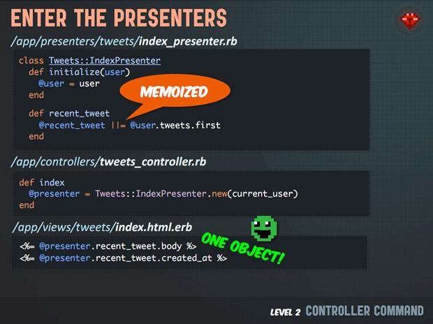 Code school slides