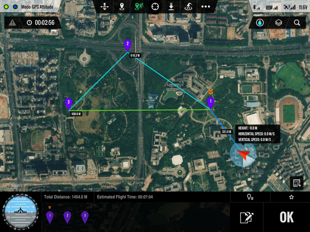 DJI Ground Station for iPad