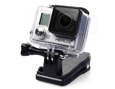 Quick Release Clip Clamp Mount 360 Degree Rotation for Gopro Hero