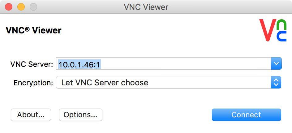 realVNC Viewer Mac