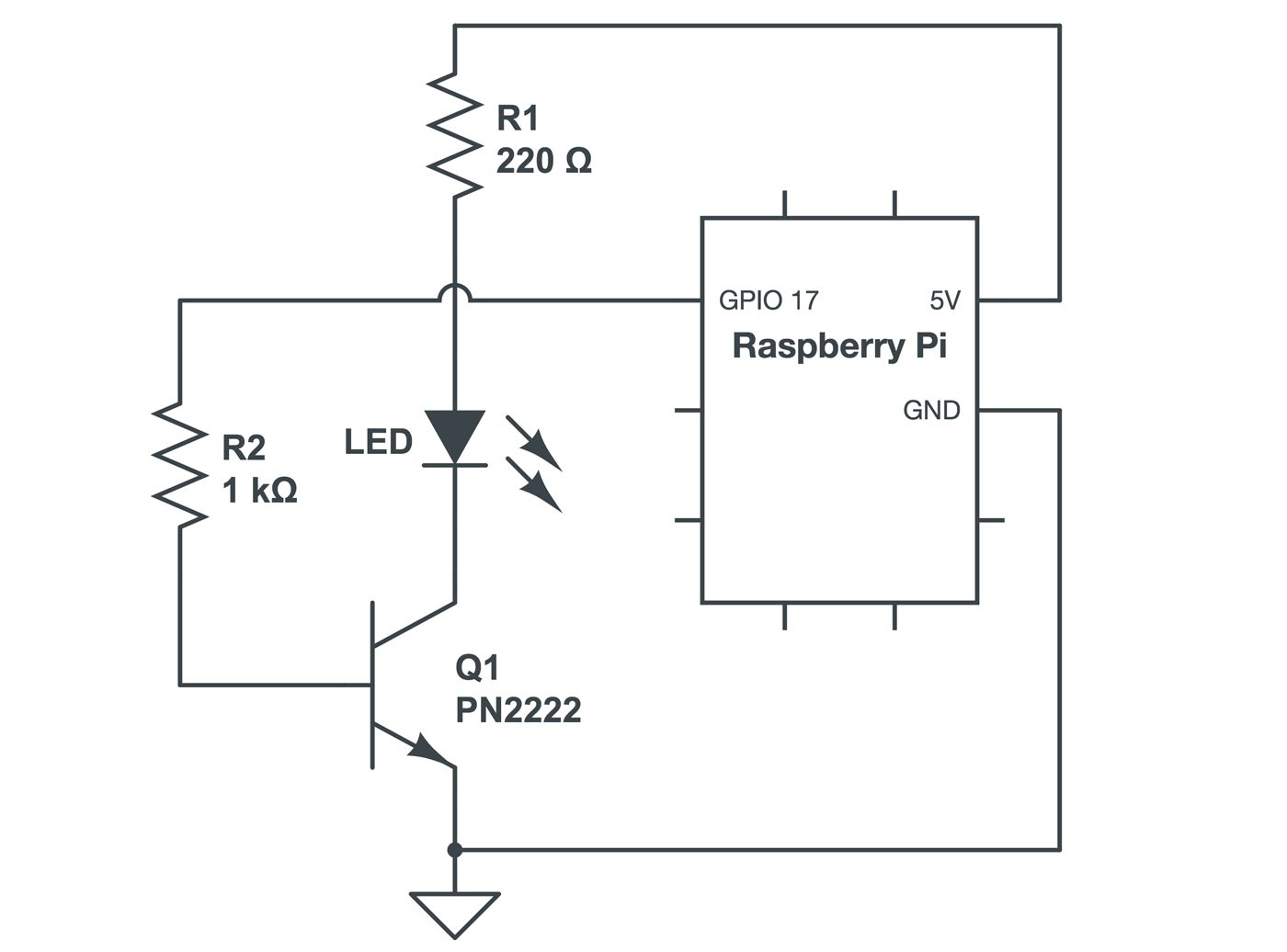 Raspberry Pi Transistor Wiring Diagram Best Secret Led Circuit Getting Started With Paulstamatiou Com Connection