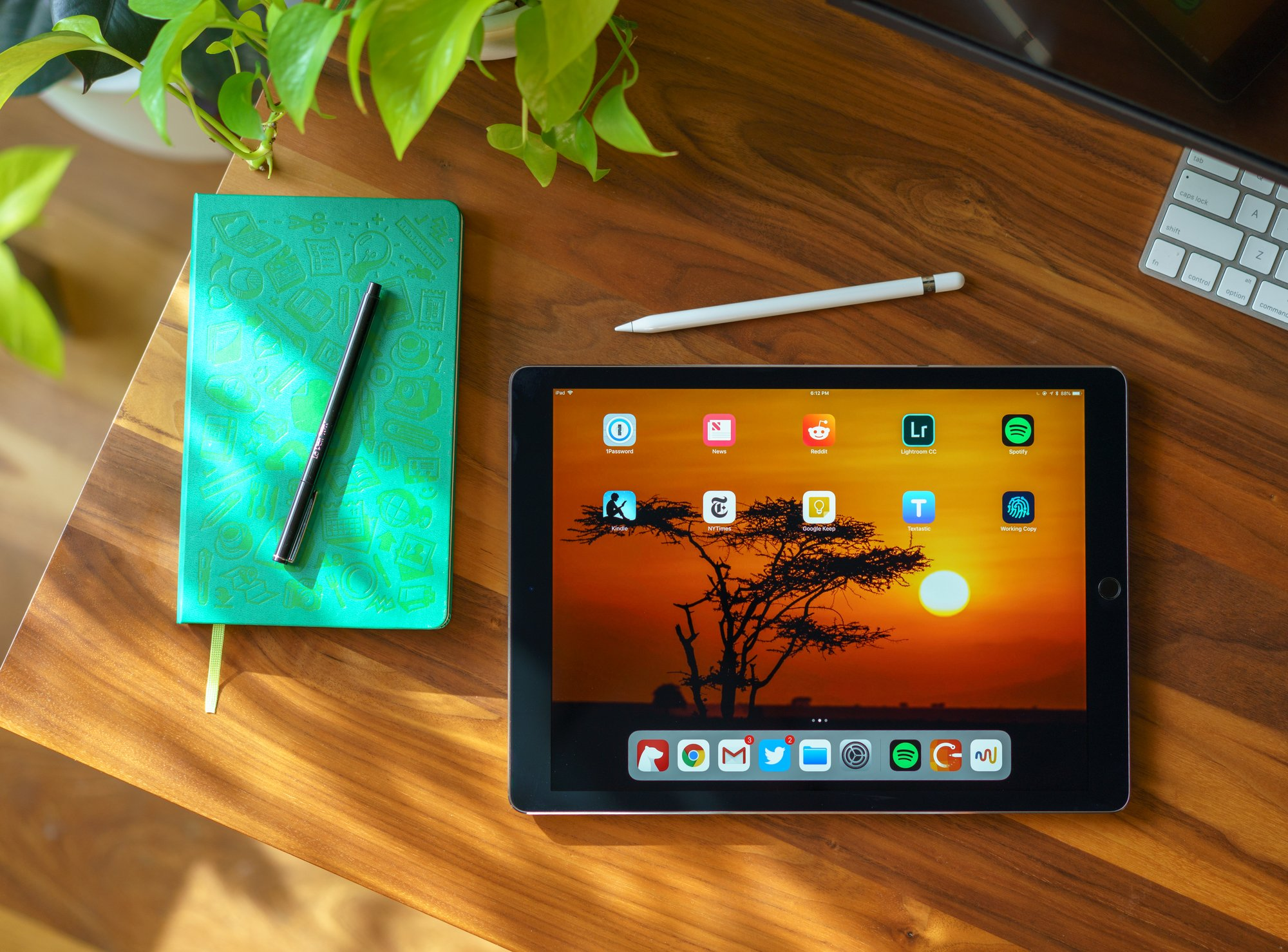 Made on an iPad Pro — PaulStamatiou com