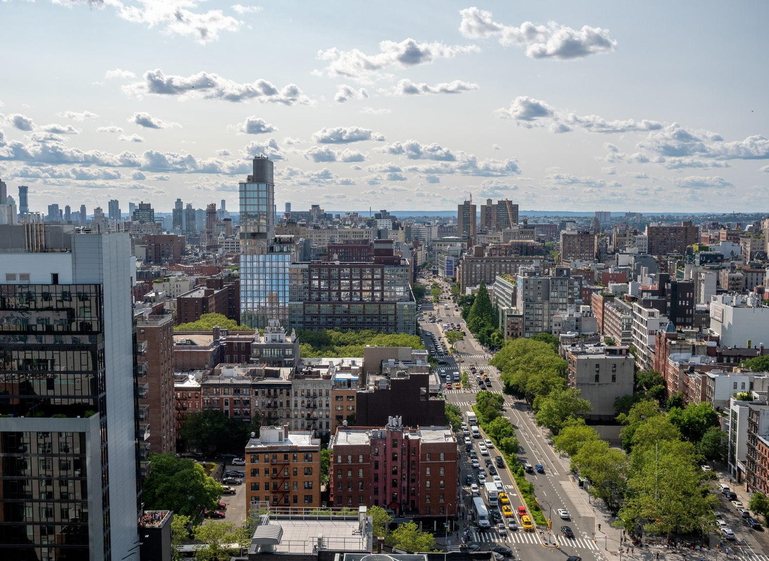 Lower East Side, facing west